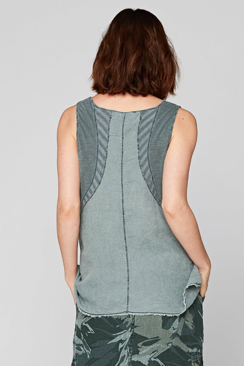 Stripe Detail Tank