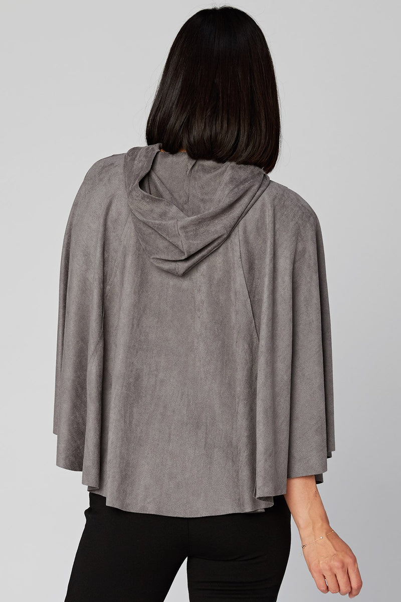 Wearables Nubuck Cape