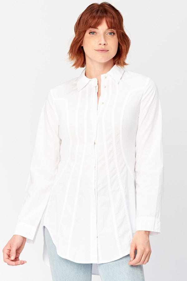 XCVI Ioan Button-up