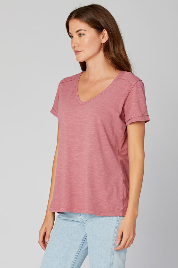 Wearables Organic V-Neck Tee