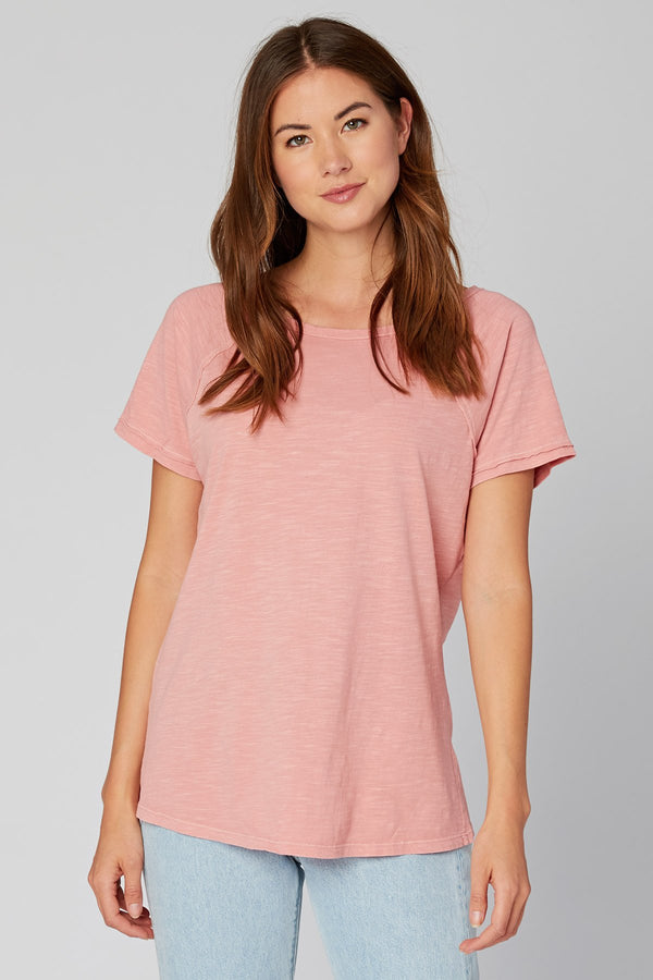 Wearables Organic Raglan Sleeve Tee
