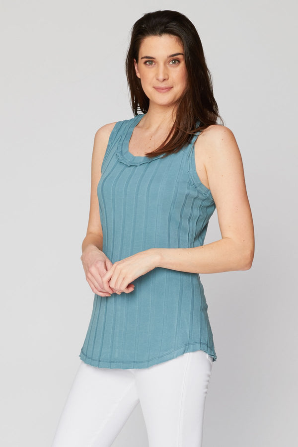 Wearables Organic Cotton Wide Rib Tank