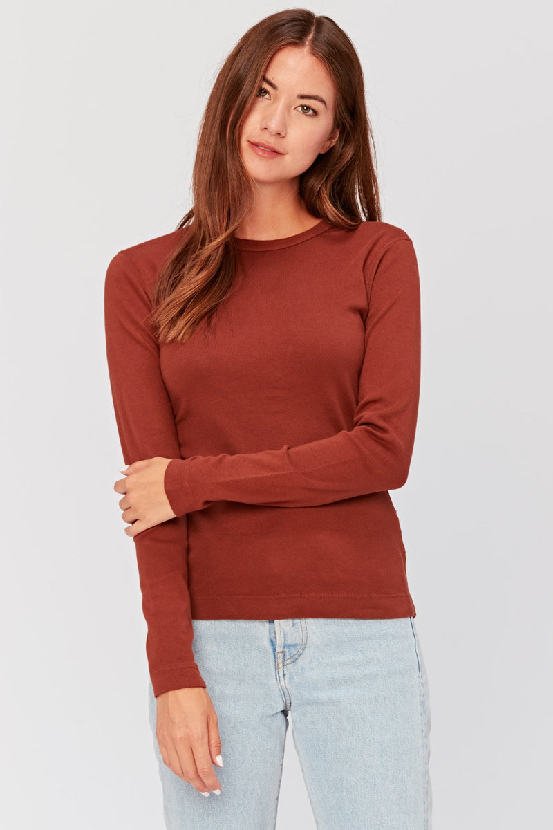 Pinpoint Long Sleeve Tee