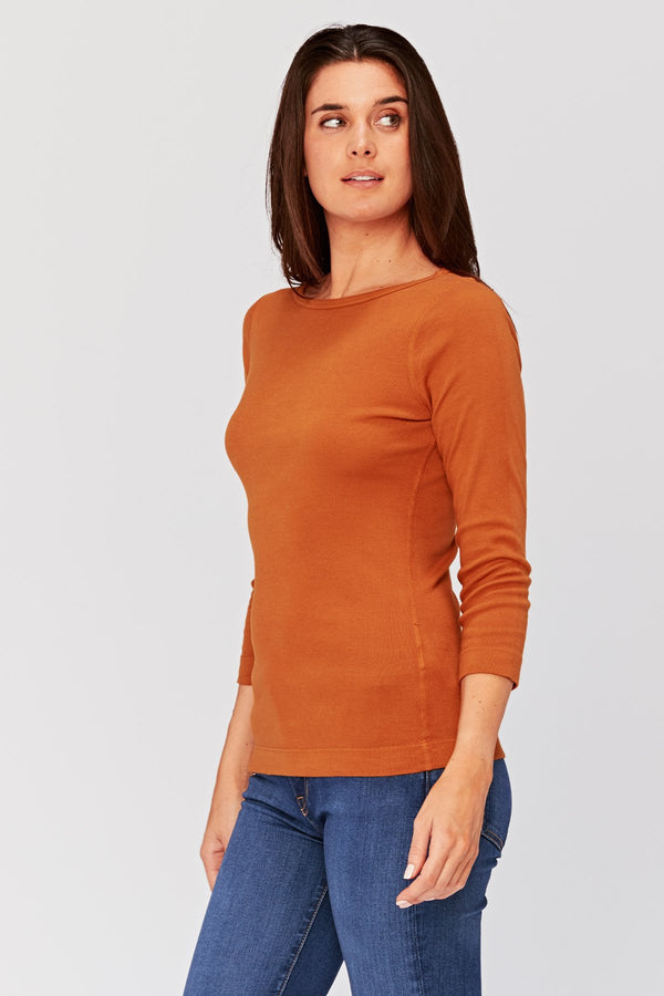 Essentials Minim Wide Neck Tee