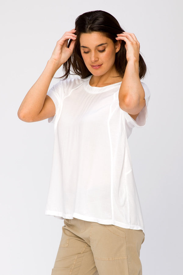 Voile Shell Top