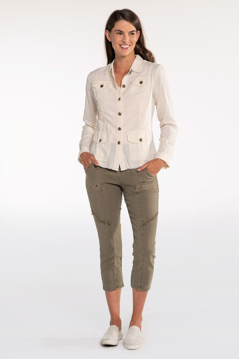 Wearables Linen Safari Jacket