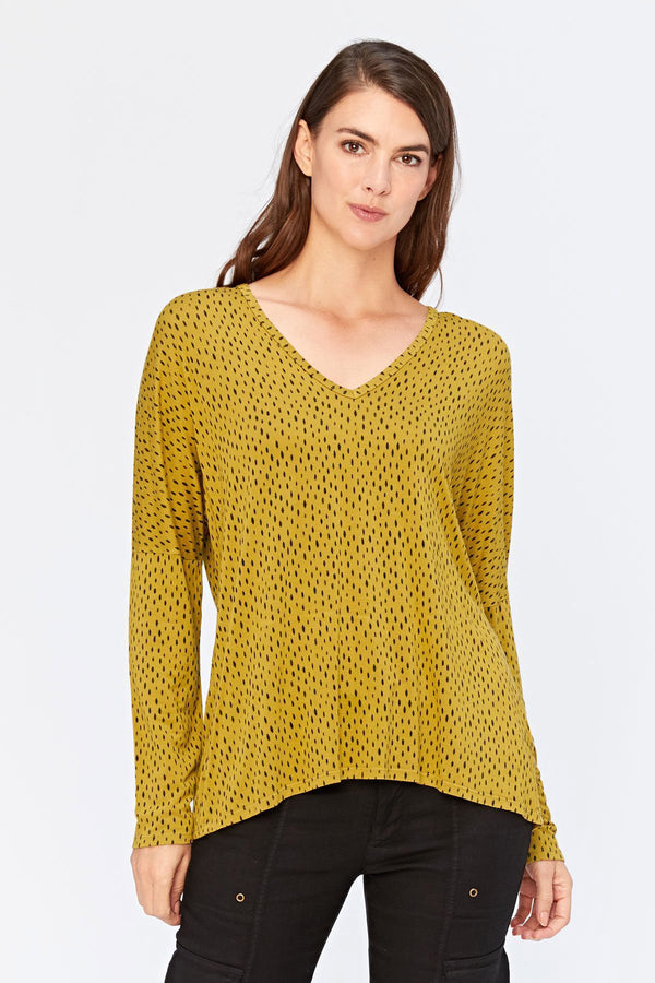 XCVI Printed Delightful Top