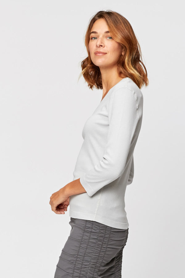 Wearables Organic Ioda V-Neck Tee