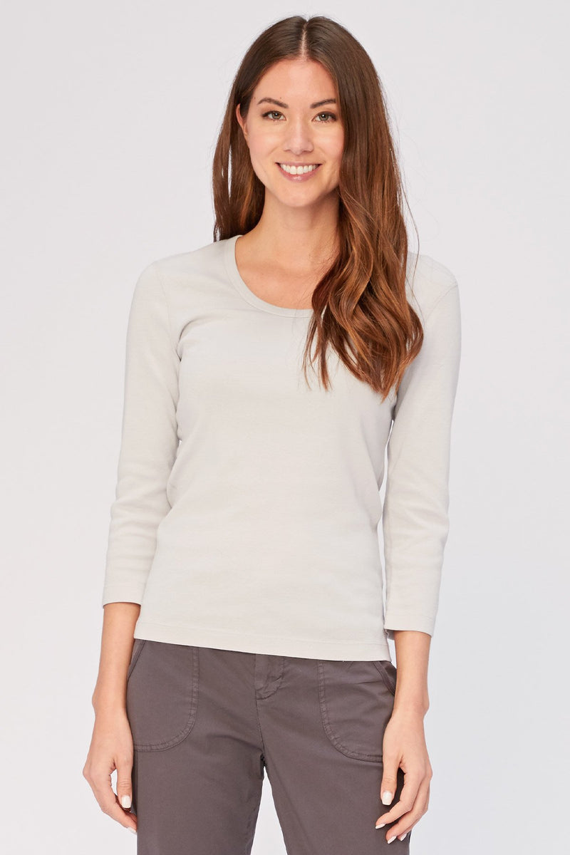 Wearables Speckle Scoop Neck Tee (Organic)
