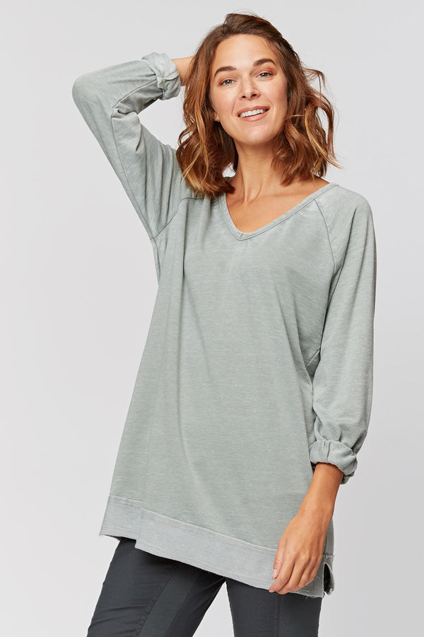 Wearables Bronty Burnout V-Neck