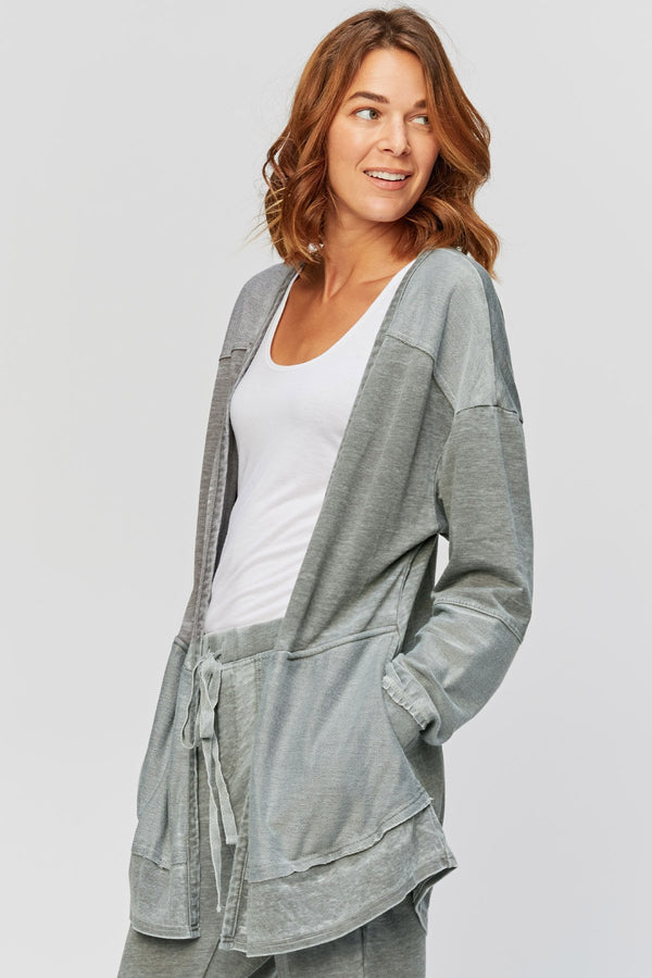Wearables Hedeon Burnout Cardigan