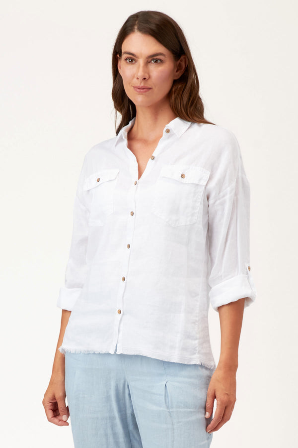 XCVI Whitson Button-Up
