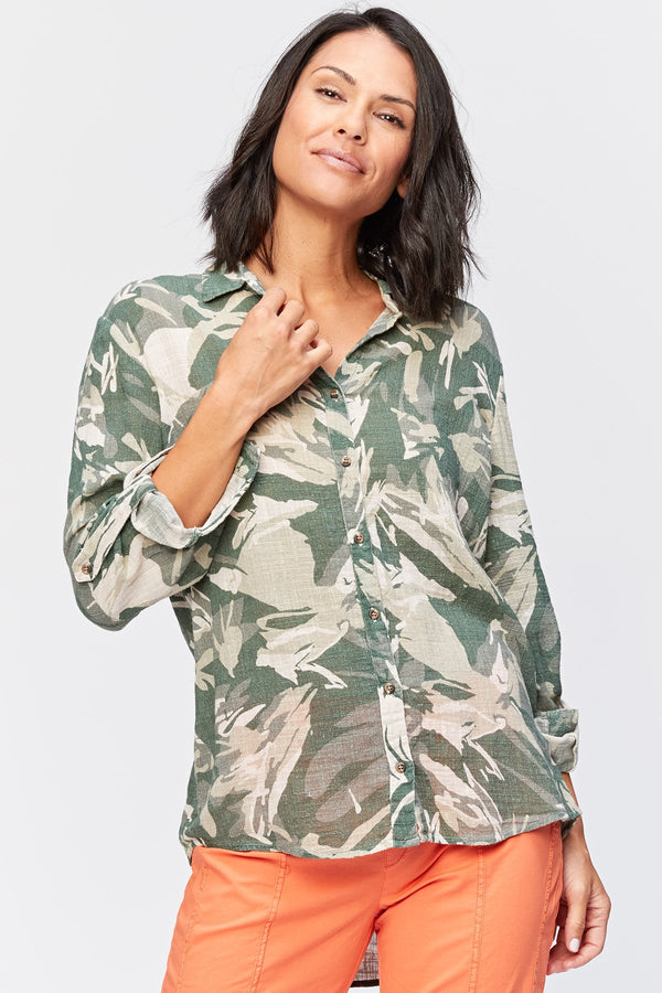 Wearables Printed Porter Blouse