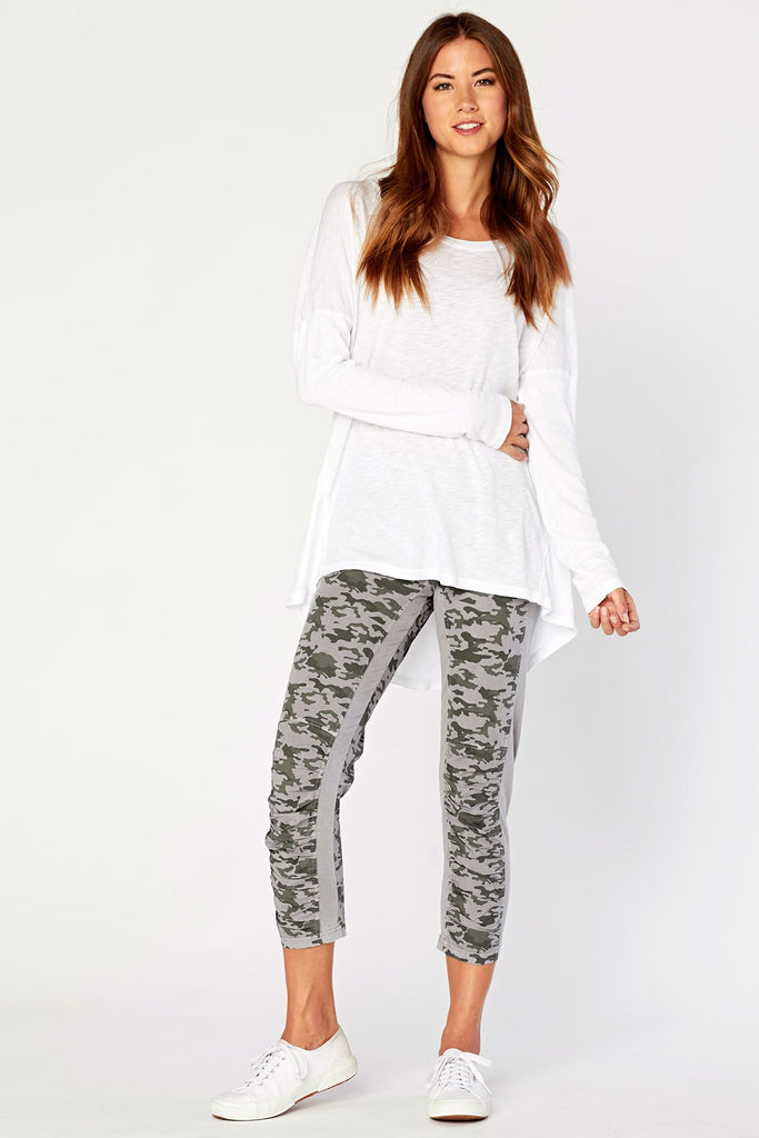 Jetter Crop Legging