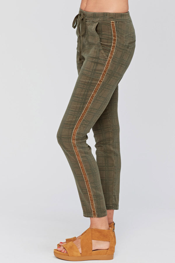 XCVI Check Mate Pants