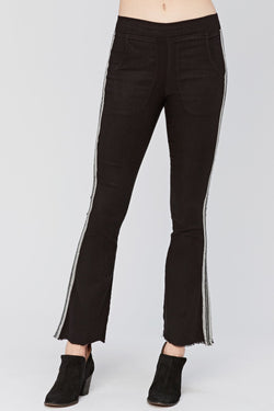 XCVI Raw Edge Trousers