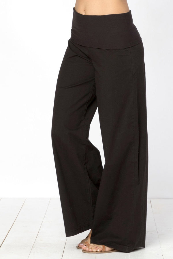 Wearables Foldover Palazzo Pant