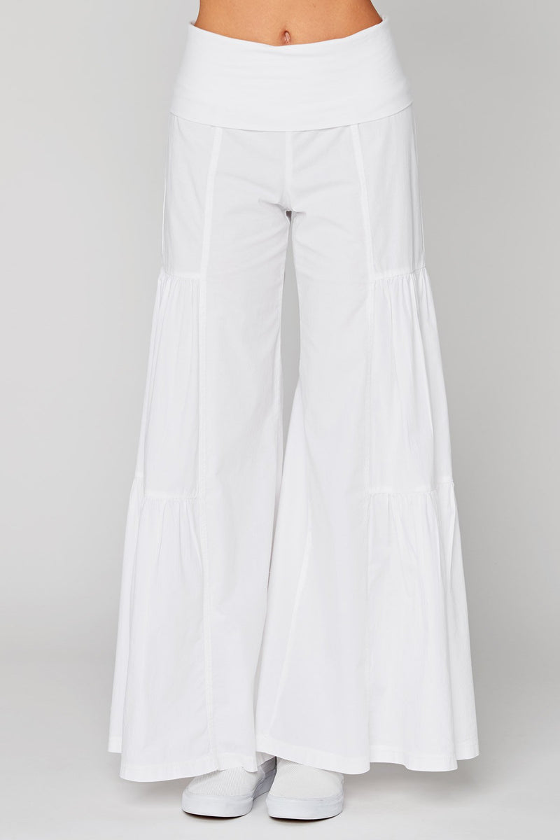 Side-Tier Palazzo Pant