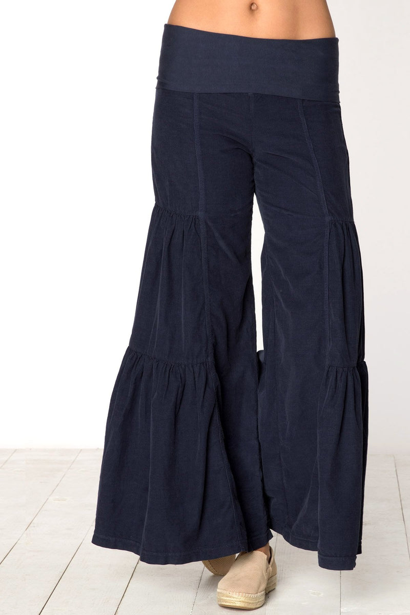 Side Tier Palazzo Pant