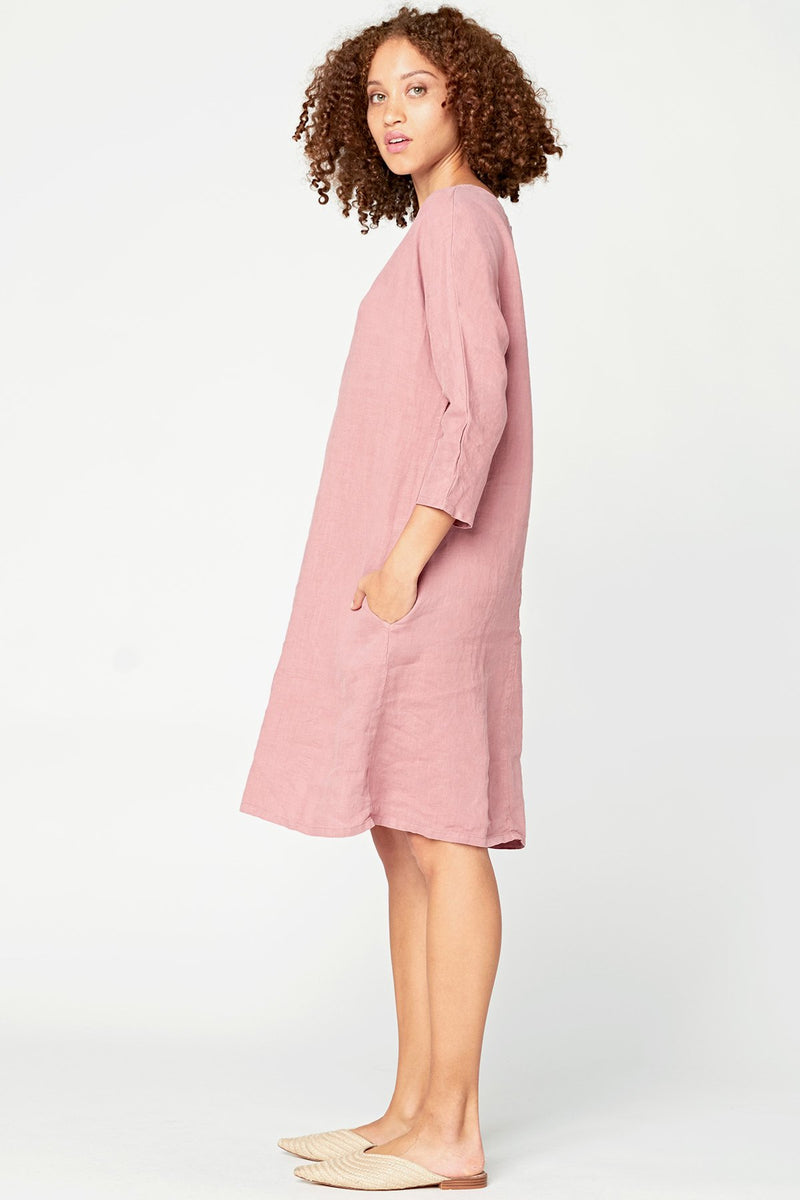 Long-Line Tunic Dress