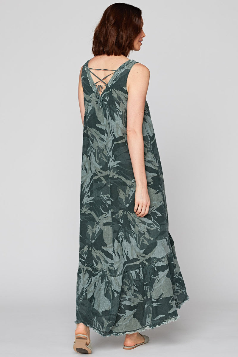 Camo Tropical Dress