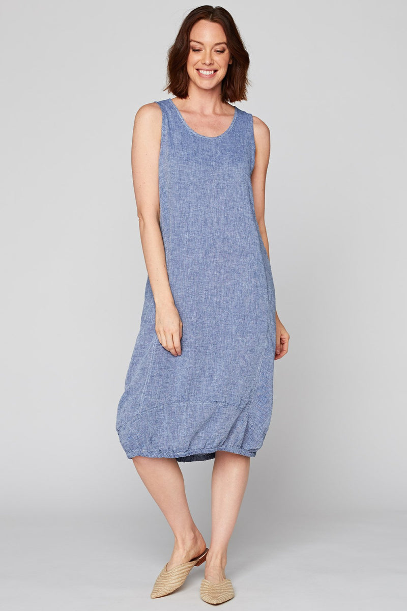 XCVI Indigo Pottery Dress