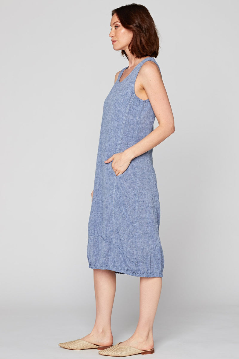 Indigo Pottery Dress