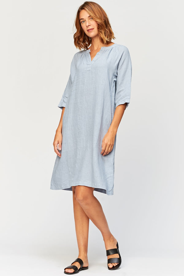 XCVI Rawn Shirt Dress