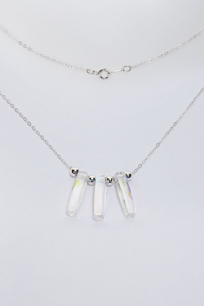 Beads & Crystal Pendants Necklace