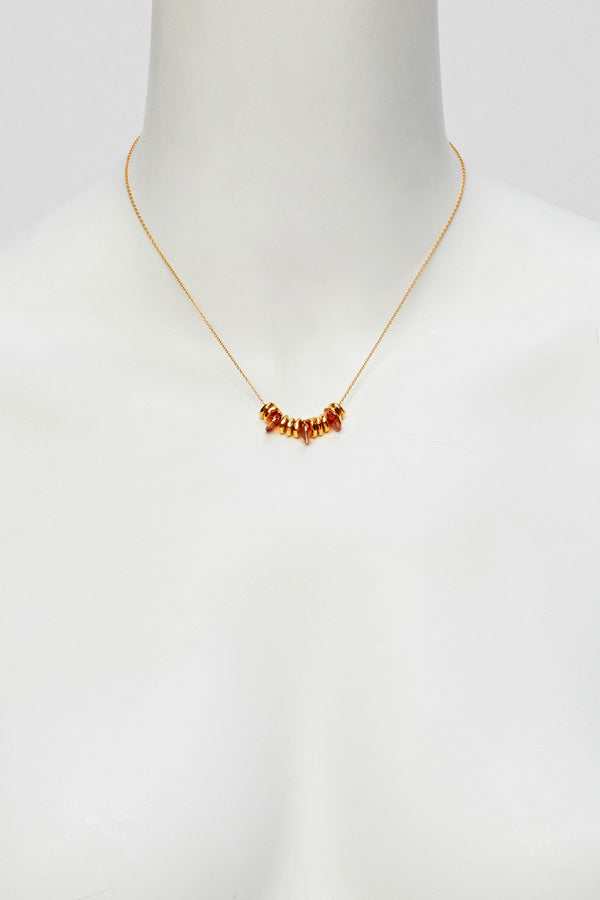 Beads & Rivoli Necklace