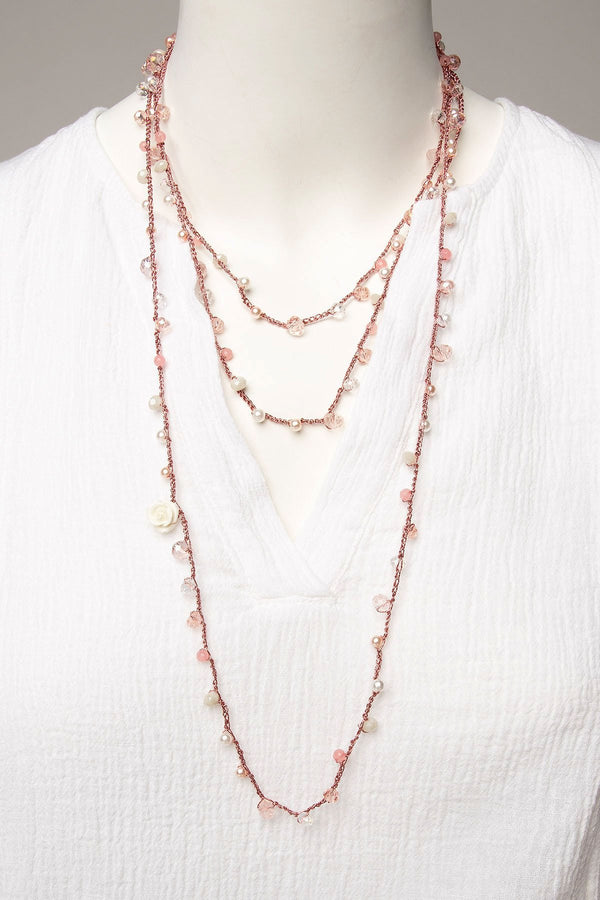 Michal Cohen Desert Rose Necklace