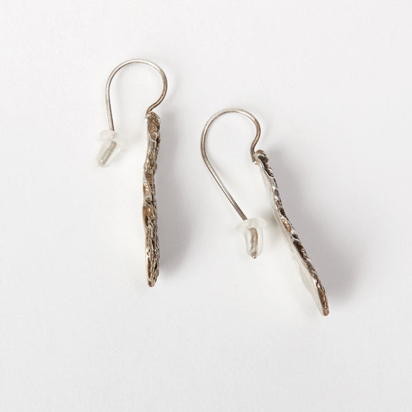 Liza Shtromberg Silver Lace Earrings