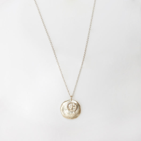 "Liza Shtromberg ""Peace"" Pendant Necklace"