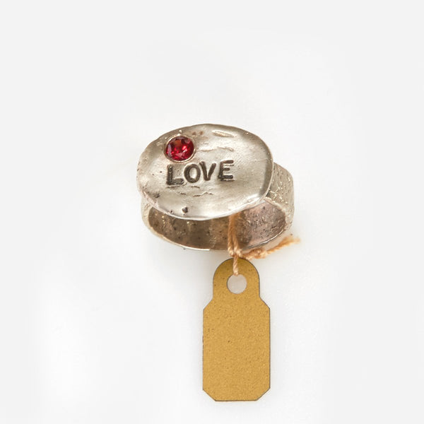 "Liza Shtromberg ""Love"" Ring"