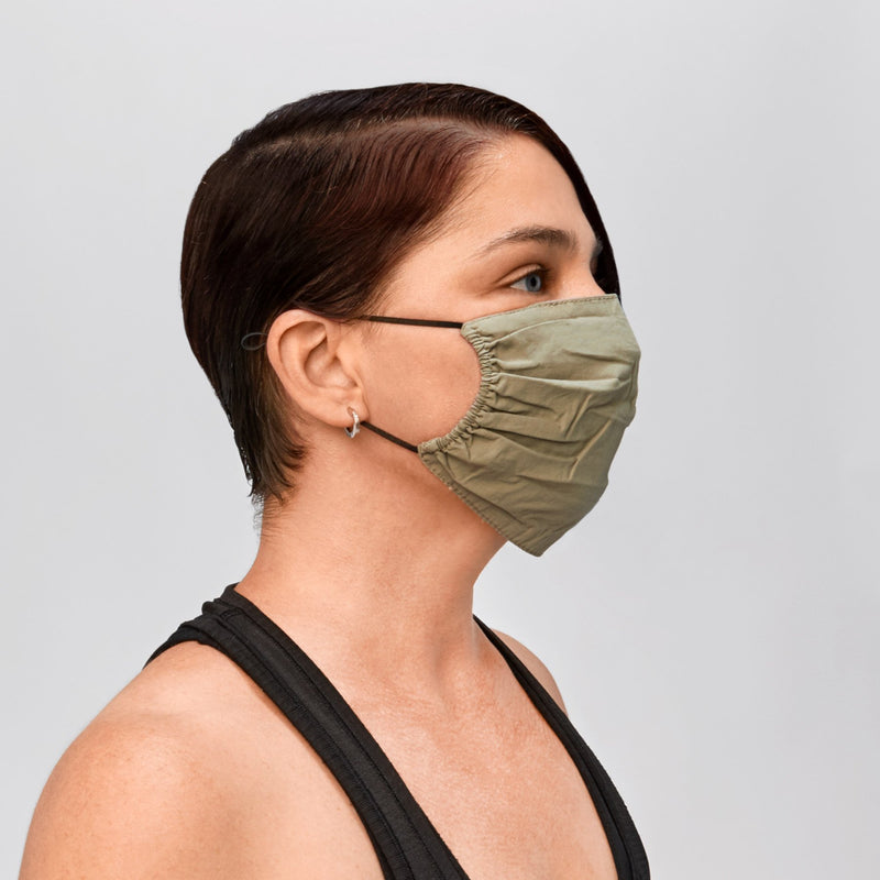 XCVI Lightly Ruched Mask