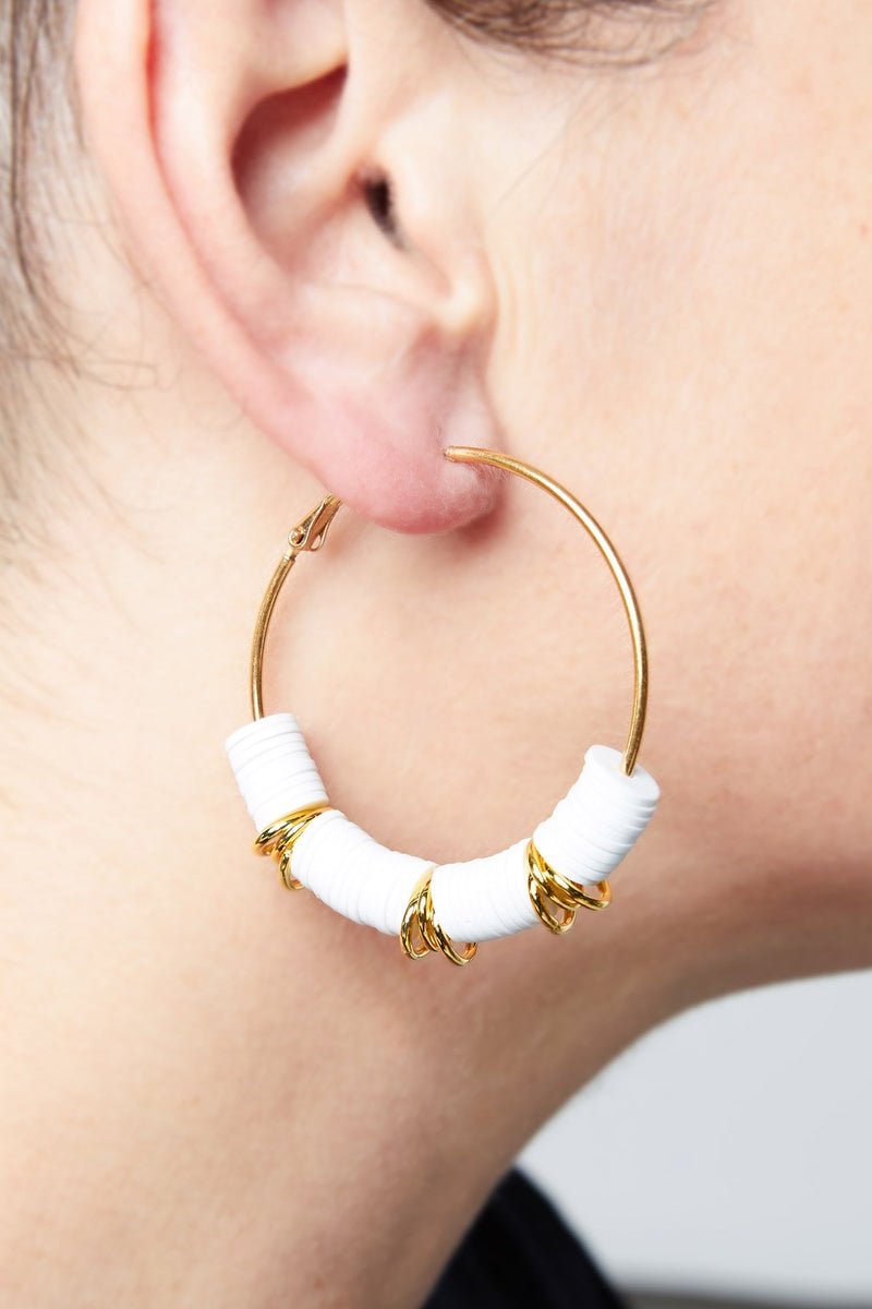 Silicone Hoop Earrings