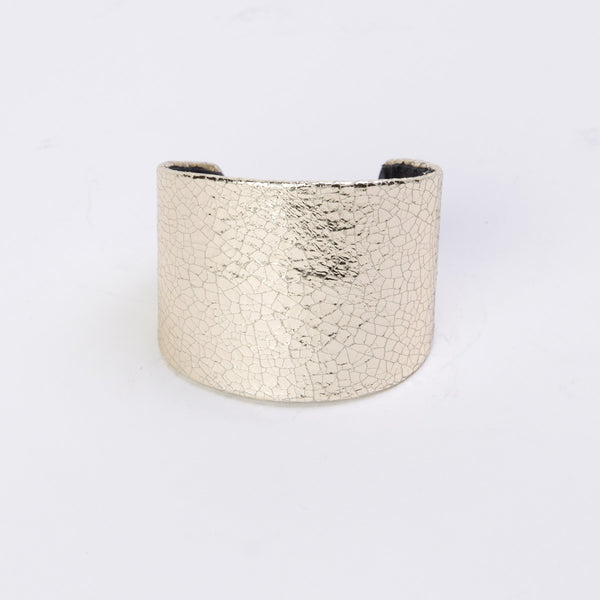 Michal Cohen Leather Cuff Bracelet