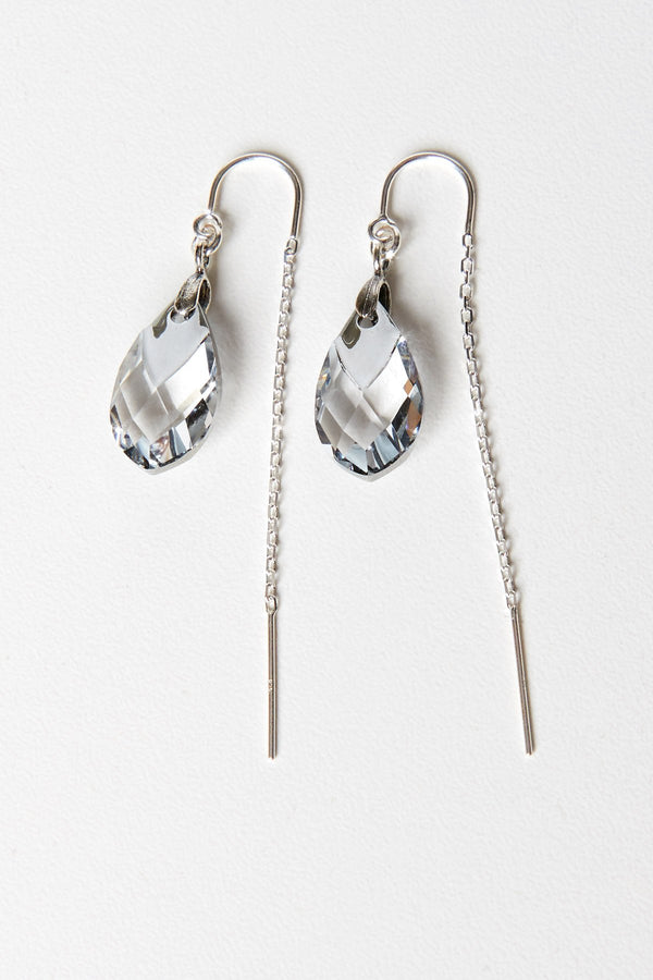 Earrings with Swarovski Crystal Pendants