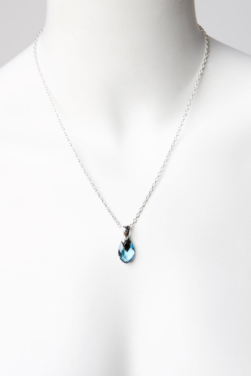Shübx Designs Necklace with Swarovski Crystal Pendant