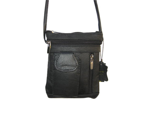 Unisex Genuine Leather On-the-Go Cross-Body [CAM-CB-F320CH]  Price:  $ 49.50 RETAIL - N & R Products