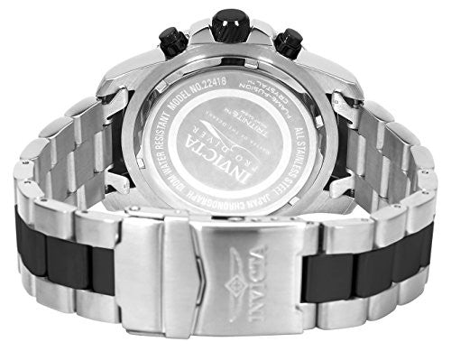 Invicta Men's 'Pro Diver' Quartz Stainless Steel Casual Watch, Color:Two Tone (Model: 22416)
