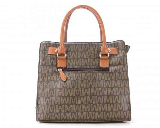 Willie Michi Amour Mignon Classic Tote - Brown - N & R Products