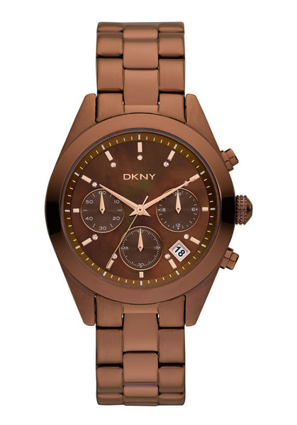 DKNY Women's Brown Stainless-Steel [DK-NY8583]  Price:  $ 235.00 RETAIL