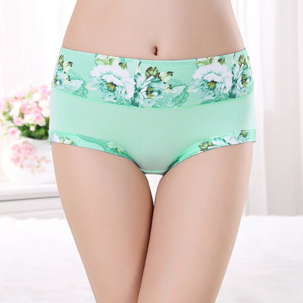 Top Quality Women Underwear Panties Ladies Seamless Sexy Briefs Print Love Lingerie Calcinhas Intimates Underpants Ropa S-4XL