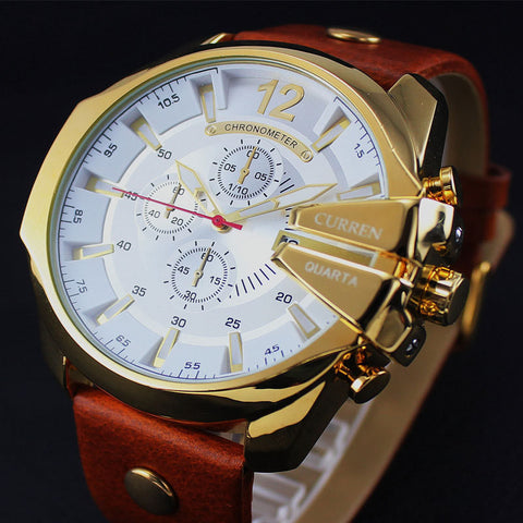 2016 Style Fashion Watches Super Man Luxury Brand CURREN Watches Men Women Men's Watch Retro Quartz Relogio Masculion For Gift