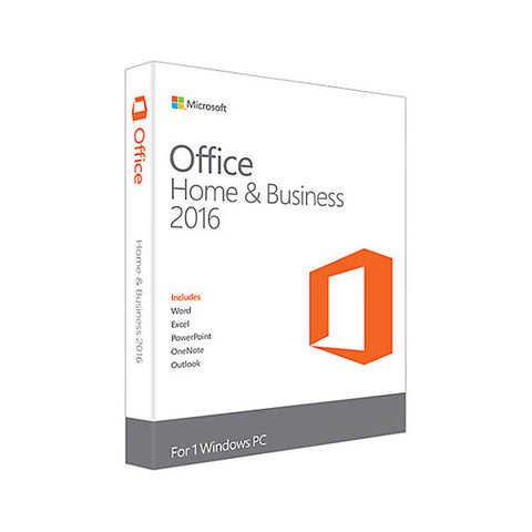 Microsoft Office 2016 Home and Business Box Pack
