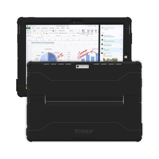 Trident Cyclops Case for Microsoft Surface 3 - Black