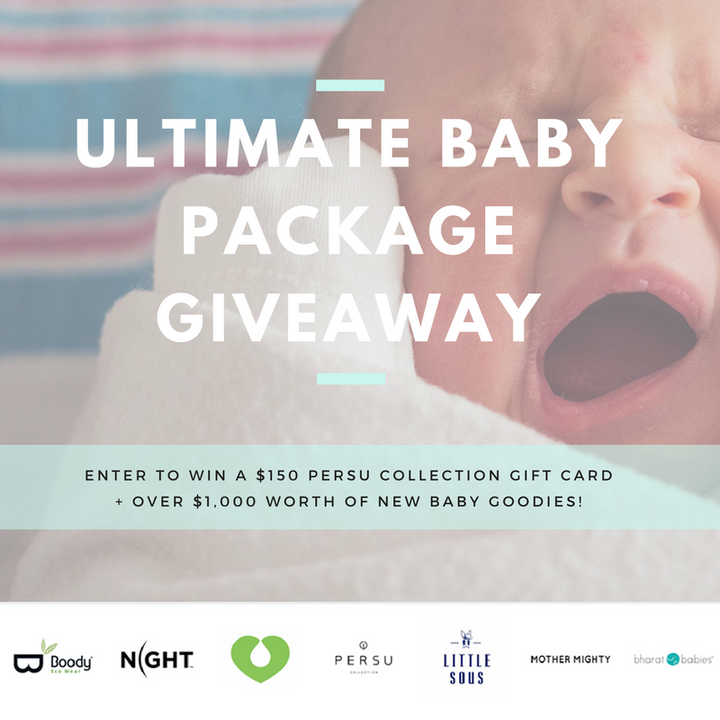 The Ultimate Baby Package Giveaway! *Ends September 5, 2017*