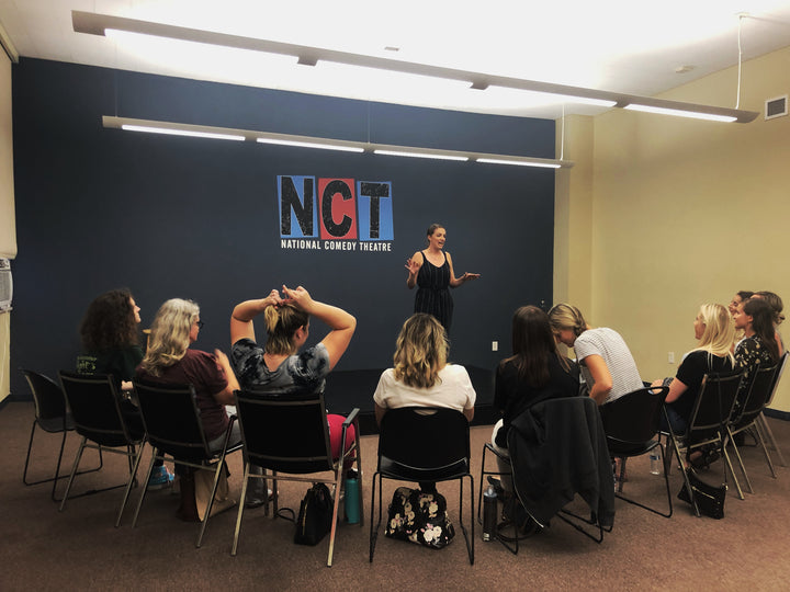 Womxn's Improv Workshop with NCT: Increase your collaborative, creative, and decision-making skills through the art of improv