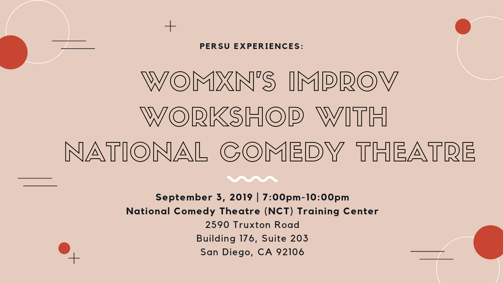 Persu Experiences: Womxn's Improv Workshop with NCT